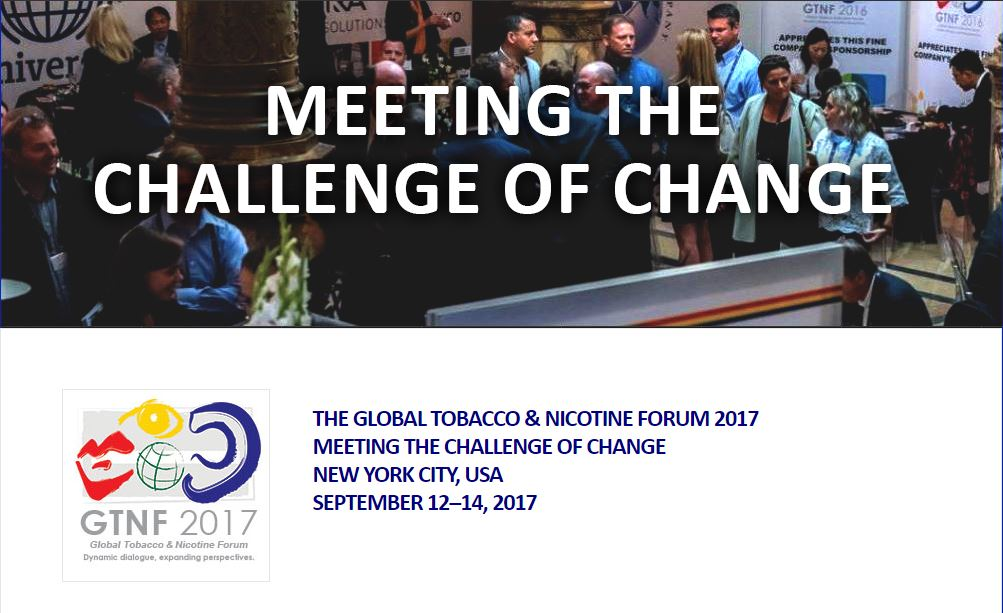 Global Tobacco & Nicotine Forum 2017