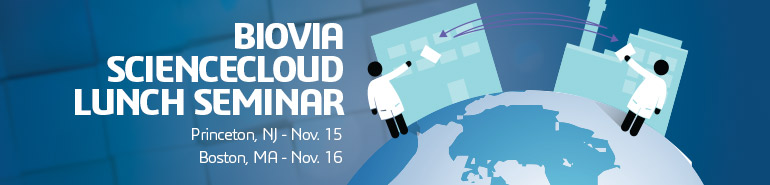 2016 BIOVIA ScienceCloud Lunch Seminar - Call for Papers