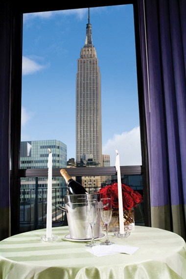 Empire State Building from the PennTop Ballroom