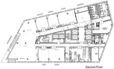 Event Rooms Floor Plan