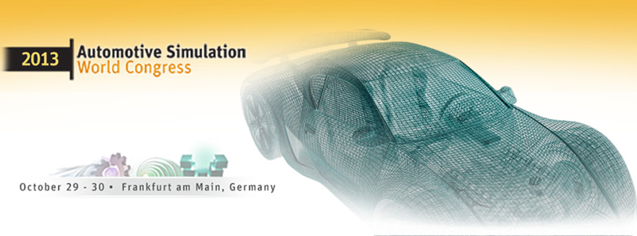 2013 Automotive Simulation World Congress