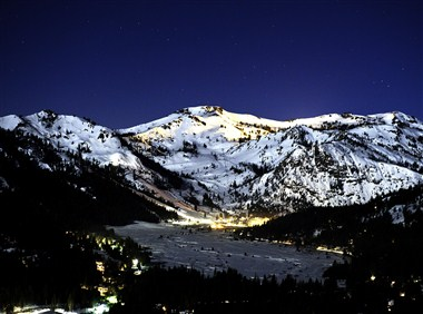 Squaw Valley at Night