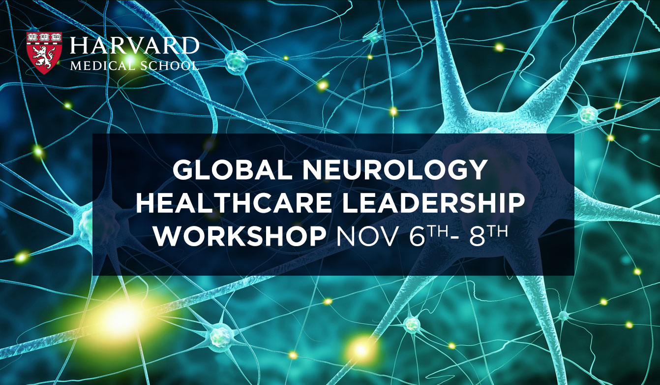 Harvard Global Neurology Leadership Workshop - Dubai 2017