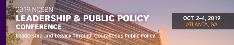 2019 NCSBN Leadership and Public Policy Conference