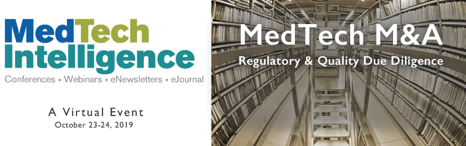 MedTech Mergers & Acquisitions Due Diligence