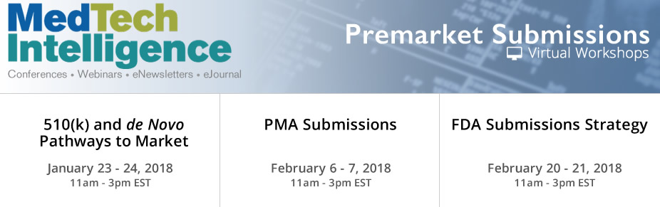 Premarket Submissions Virtual Workshops