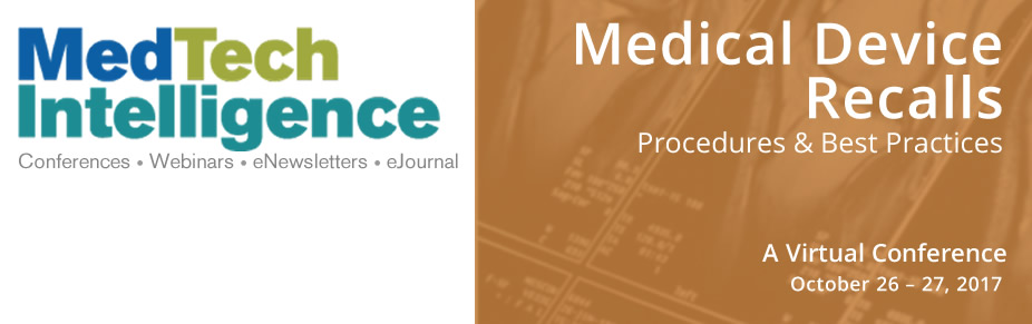 Medical Device Recalls - Virtual Conference