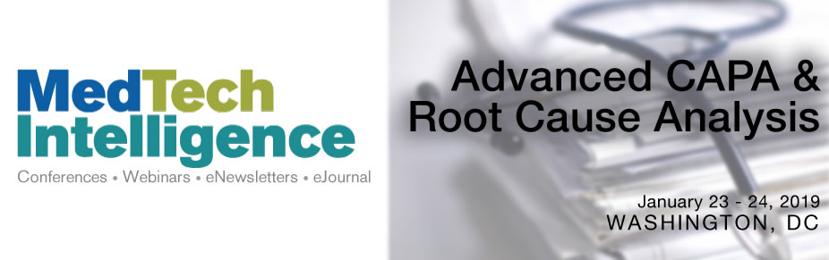 Advanced CAPA & Root Cause Analysis Conference