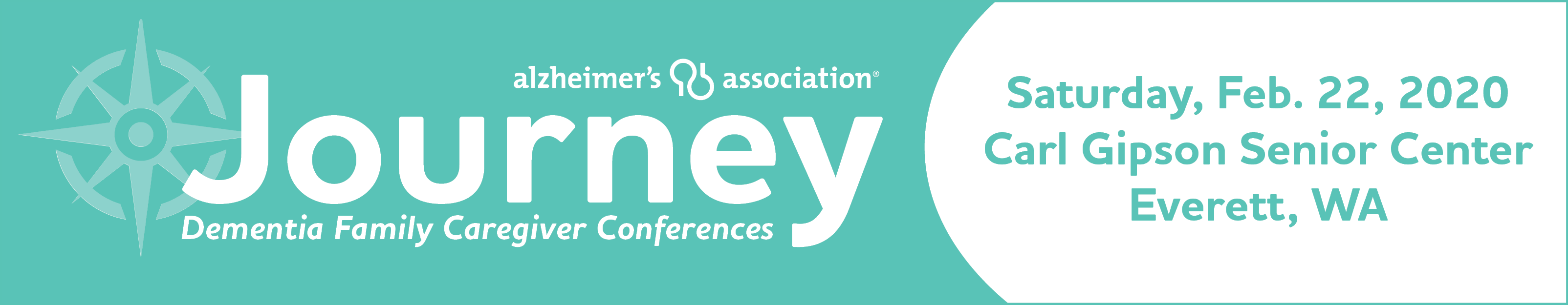 Journey Dementia Family Caregiver Conference - Everett - Feb. 22, 2020