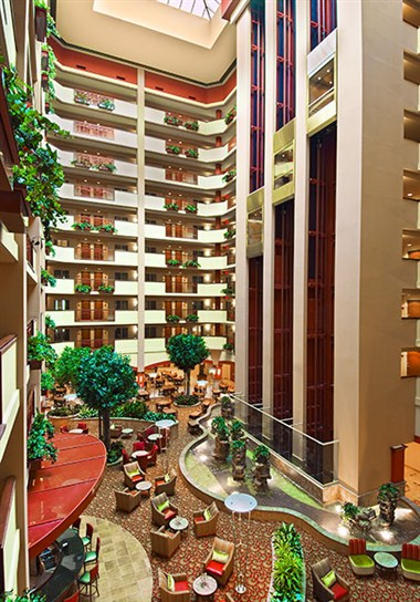 Embassy Suites interior