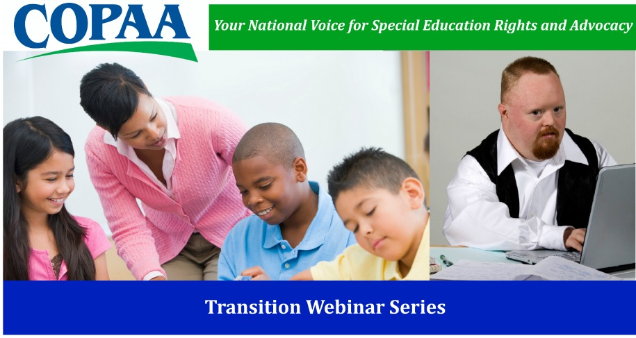COPAA Transition Webinar (logo and graphics)
