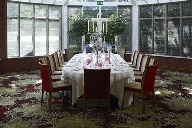 The Garden Room, private dinner