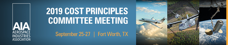 Cost Principles Committee Meeting - Fort Worth, TX
