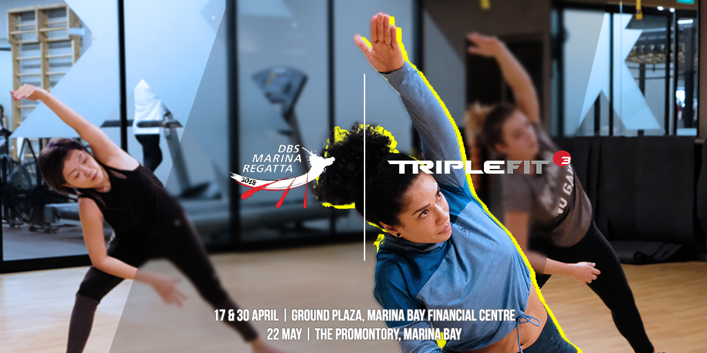 TripleFit  @ Road To Regatta - 17, 30 April & 22 May