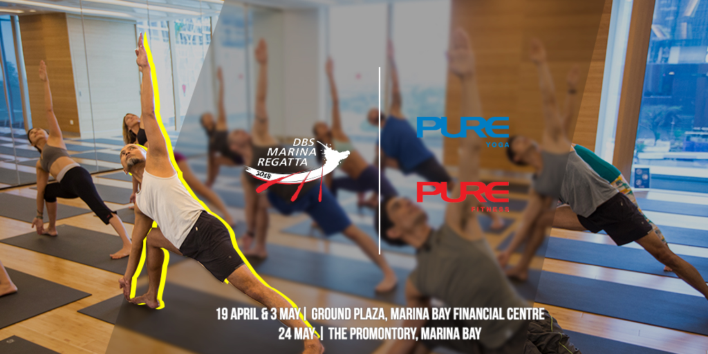 Pure Fitness & Pure Yoga  @ Road To Regatta - 19 April, 3 & 24 May