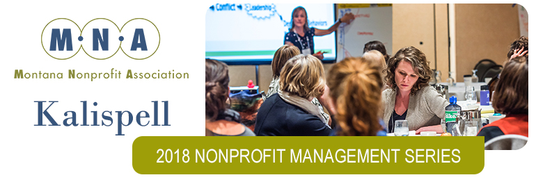 2018 Nonprofit Management Series - Kalispell