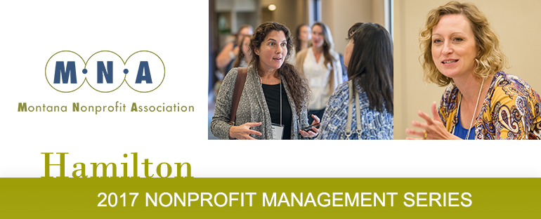 2017 Nonprofit Management Series -Hamilton