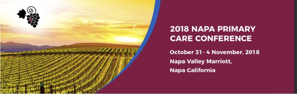 2018 Napa Primary Care Conference-Caring for the Active and Athletic Patient
