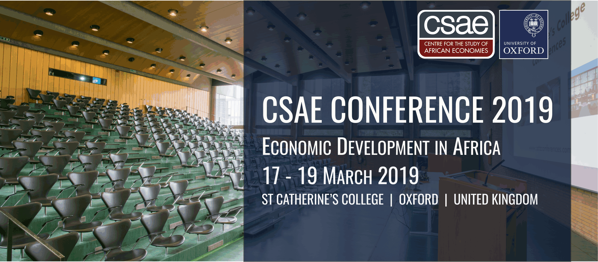 CSAE Conference 2019