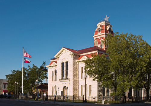 Lampasas County Texas Courthouse