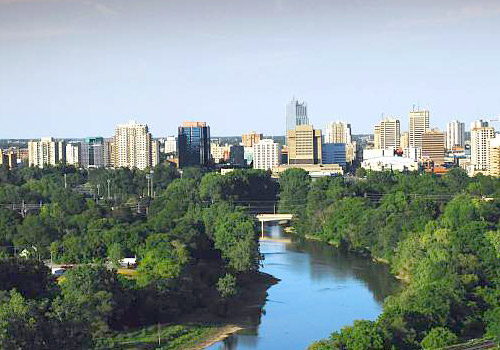 Downtown Skyline London Ontario