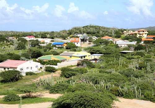 Aruba Landscape View