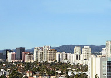 Brentwood Westwood Cityscape