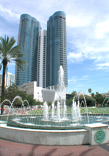 Huizenga Plaza Fountain