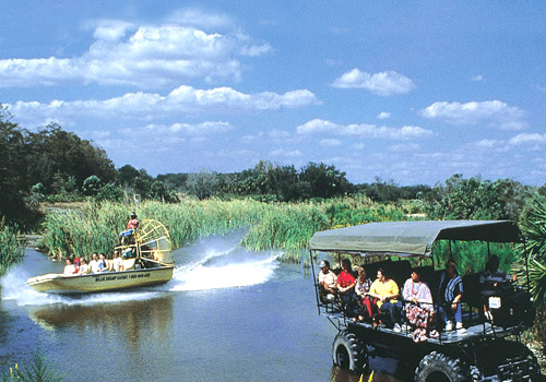 Swamp Buggy Airboat Ride