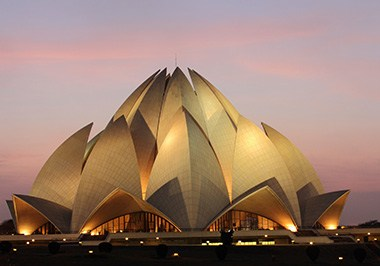 Lotus Temple (Baha'i House of Worship)
