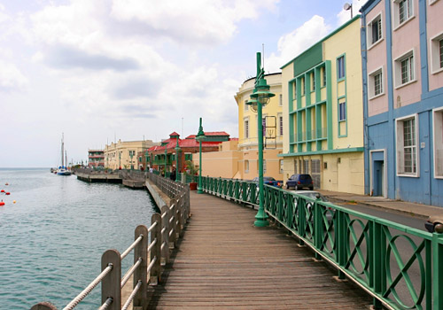Promenade in Bridgetown, Barbados