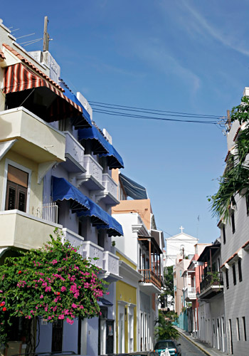 Spanish Colonial Style Architecture, Old San Juan