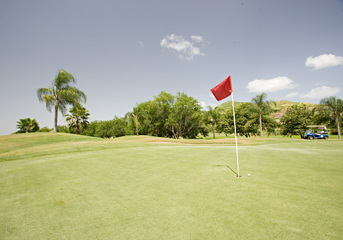 Golf Course in Porta Caribe