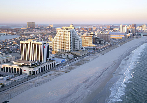 Downtown Atlantic City Skyline