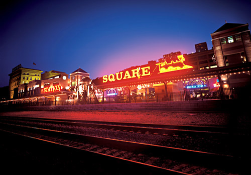 Station Square at Night