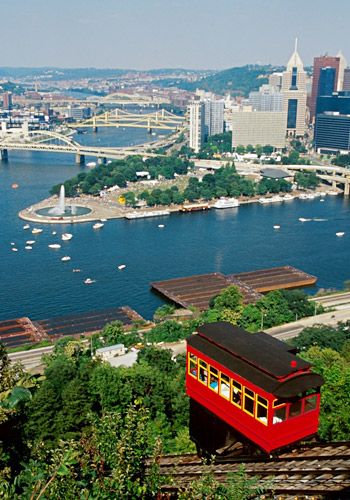 Duquesne Incline, historic cable car railway