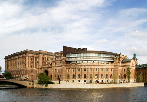 Swedish Parliament Building