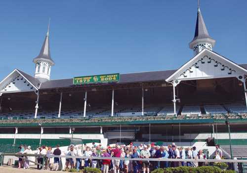 Churchill Downs Spire
