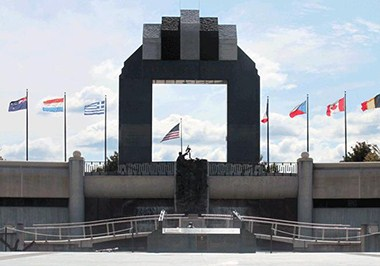National D-Day Memorial Arch
