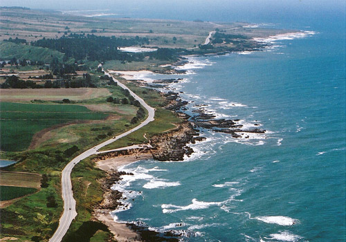 Pacific Ocean Coastline