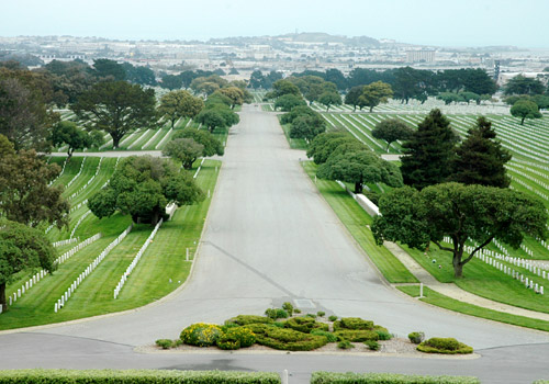 Golden Gate National Cemetery Burlingame