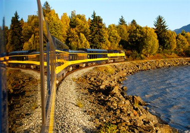 Alaska Railroad on Turnagain Arm