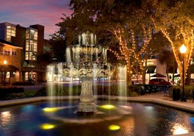 Hyde Park Village Fountain