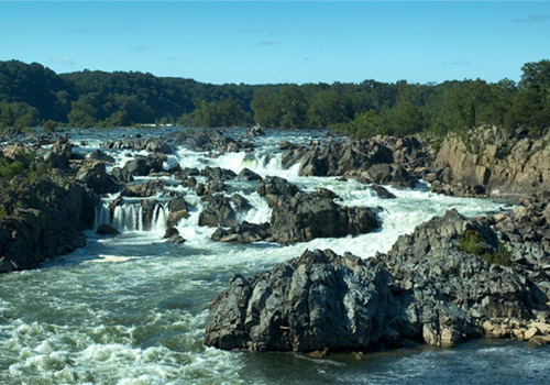 Potomac River Rapids at Great Falls Park