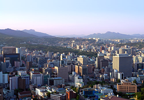 Seoul Skyline