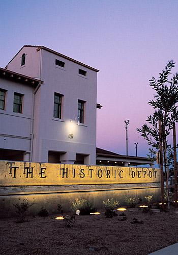 Tucson Historic Train Depot