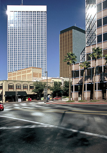 Bank of America Plaza in Downtown Tucson