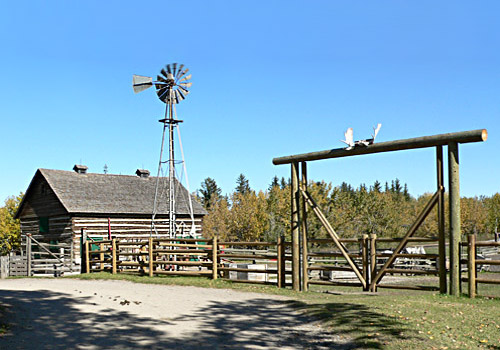 Ranch Yard, Heritage Park Historical Village