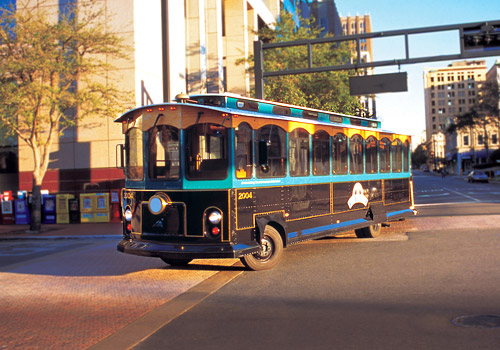Downtown Jacksonville Trolley