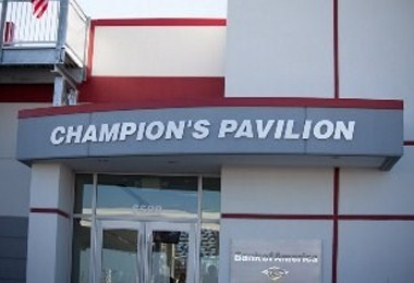 Champion's Pavilion at CMS